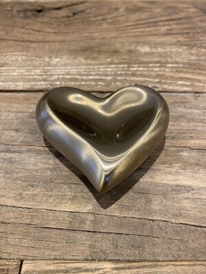 Mini urne in hartvorm 7cm hoog inhoud 0,1l
