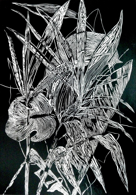 Magda Chmielek, Black Leaves I