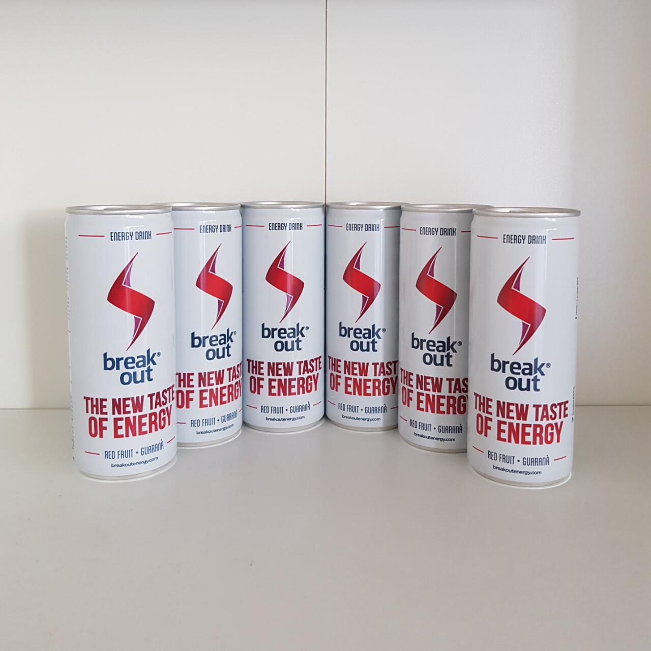 Breakout Energy Drink - 6 x 24 ml