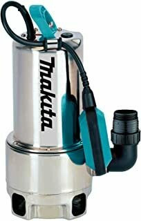 Makita PF1110 Electric Submersible Pump, Dirty Water Up to 35 mm Particle Size) 1100 W Stainless Steel