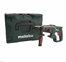 metabo 600210840 KHA18LTX 18 V Li-Ion SDS Plus Hammer Drill with Metaloc Carry Case-Green, 1