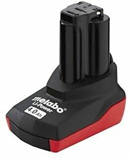 Metabo MPT625585000 4.0 Ah Li-Power Battery Pack 10.8 Volt, Black, 1