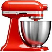 KitchenAid Mini Food Processor (Red, Stainless Steel, 50/60Hz)