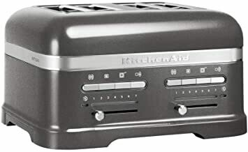 Kitchenaid Toaster Artisan with compartments Medallion Silver
