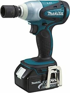 Makita DTW251RMJ 18 V Li-ion LXT Impact Wrench Complete with 2 x 4.0 Ah Li-on Batteries and Charger in a Makpac Case