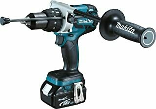 Makita Cordless Impact Drill, (18 V, 5.0 Ah, in Makpac including 2 batteries and charger), DHP481RTJ