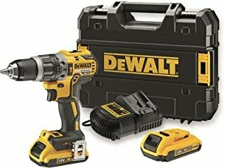 Dewalt Battery Pack of 1, Yellow/Black, DCD796D2Cordless QW 2Ah