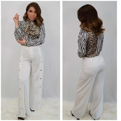 White Bell Pant