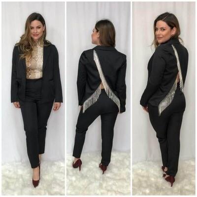 Black Suit With Pants