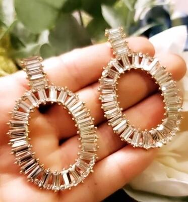Circle Lines Earrings