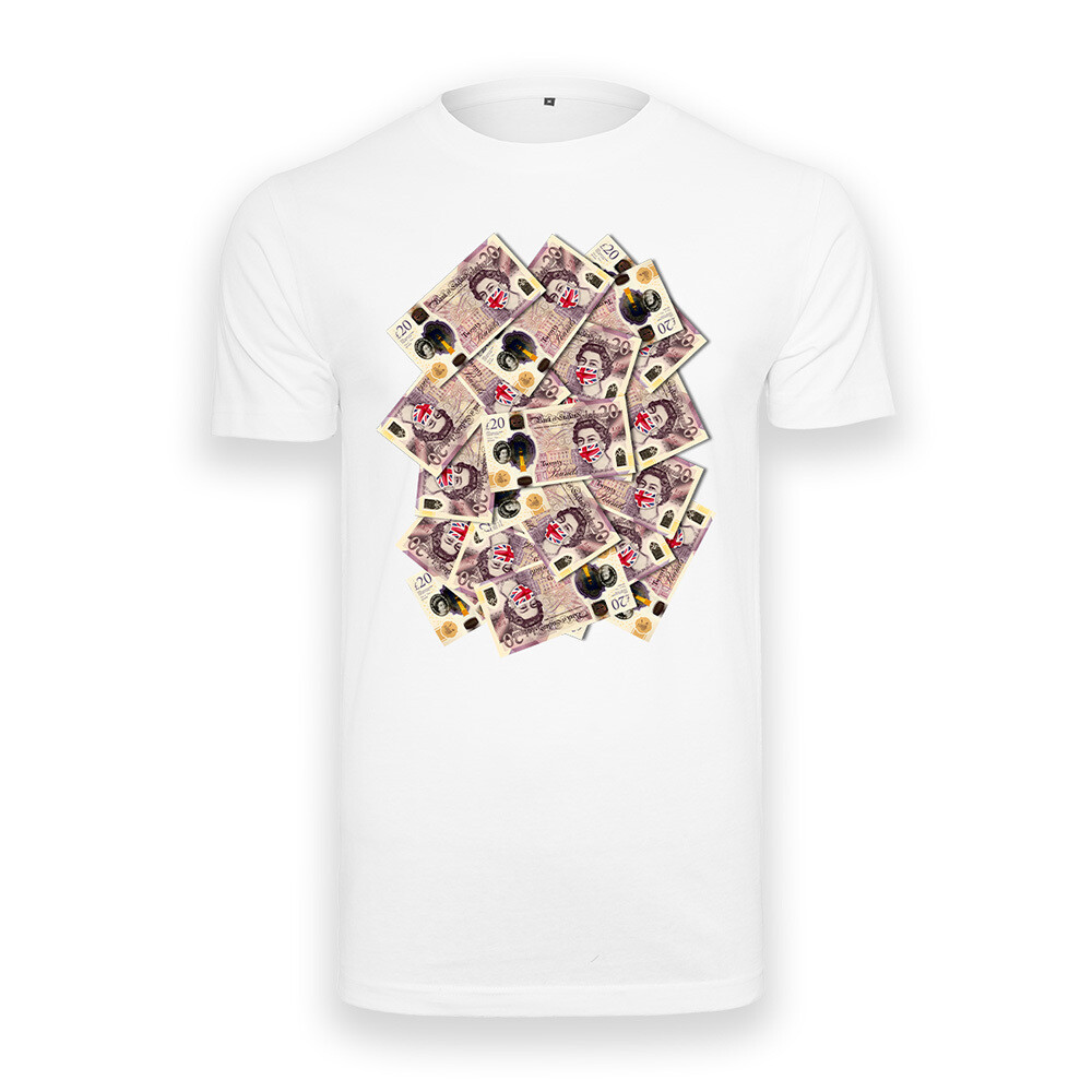 MULTIPLE £20 NOTE T-SHIRT