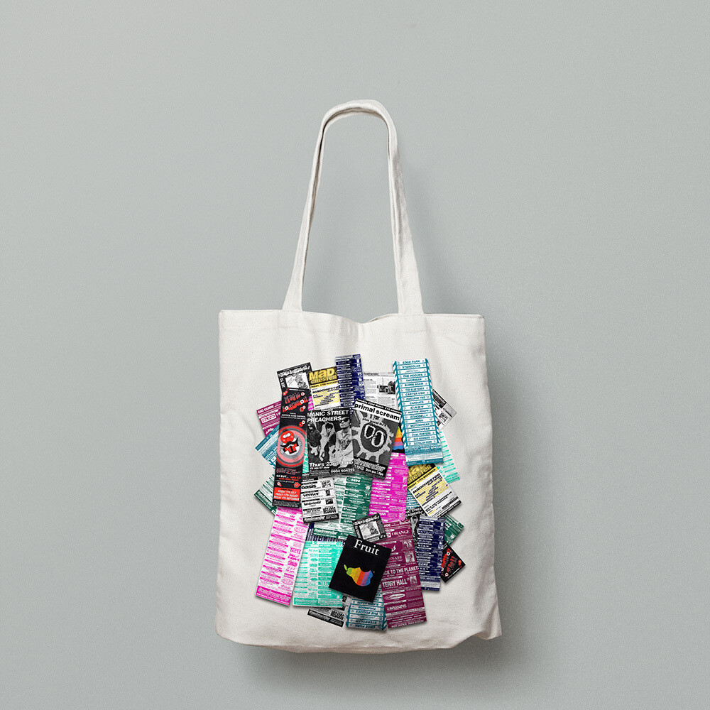 ROADMENDER FLYER COLLECTION    - TOTE BAG