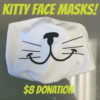 Kitty Face Mask
