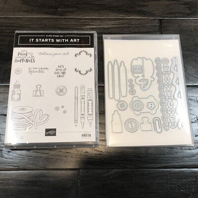 It Starts With Art Cling Bundle