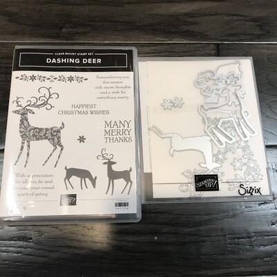 Dashing Deer Clear-Mount Bundle