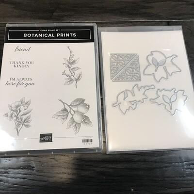Botanical Prints Cling Bundle