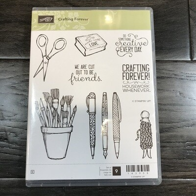 Crafting Forever Cling Stamp Set