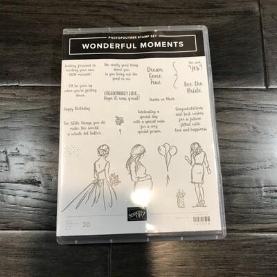 Wonderful Moments Photopolymer Stamp Set