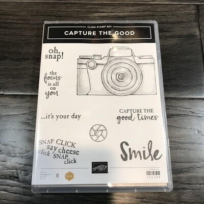 Capture the Good Cling Stamp Set
