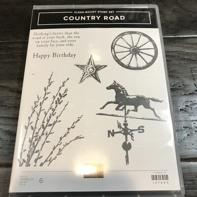 Country Road Cling Stamp Set