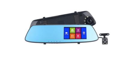 Зеркало-Видеорегистратор HD Touch Dual