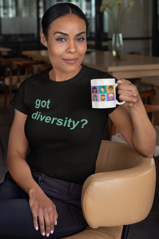 Got Diversity? Unisex Jersey Short Sleeve Tee