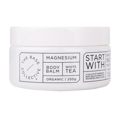 MAGNESIUM + WHITE TEA BODY BALM