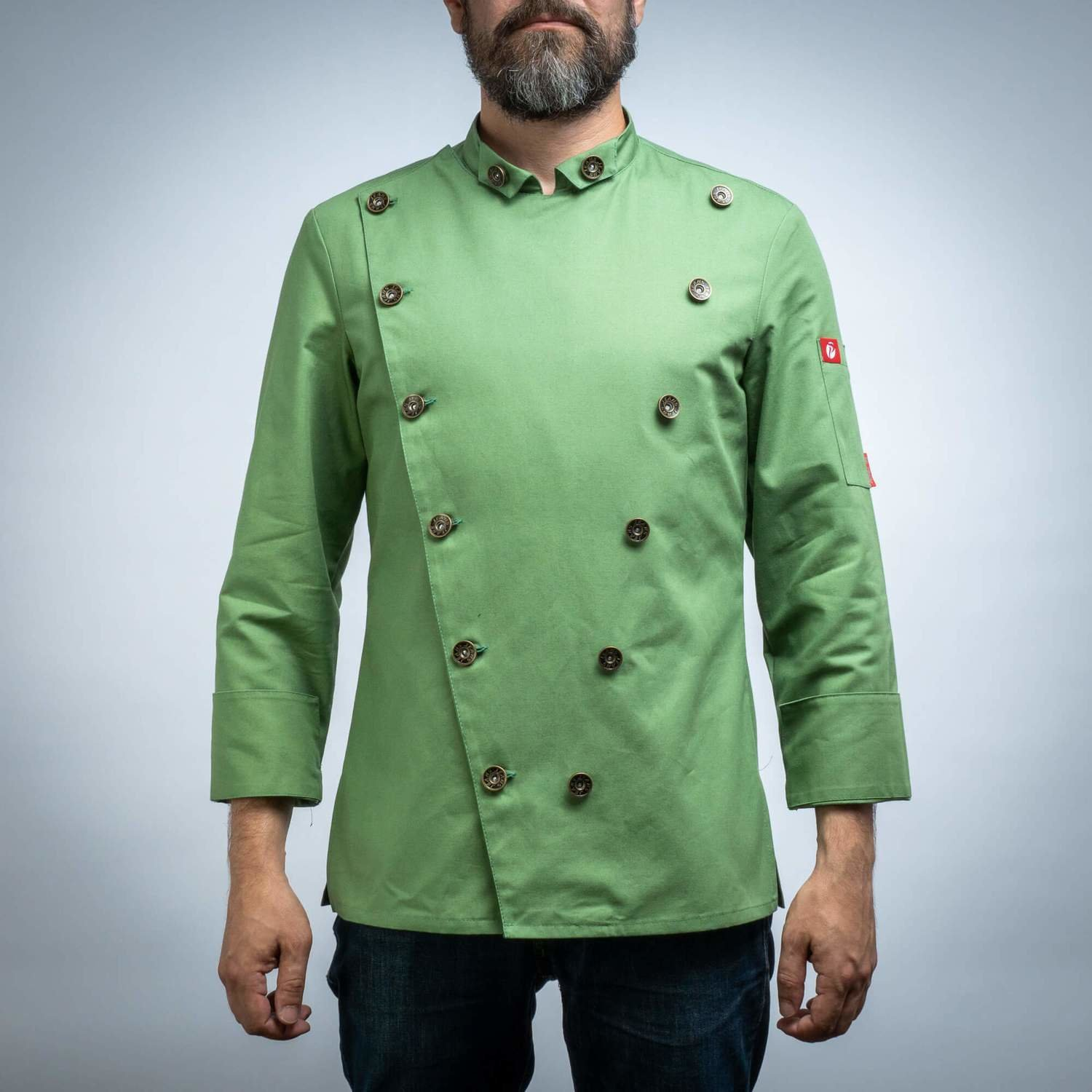 223GRASS - CHEF'S JACKET