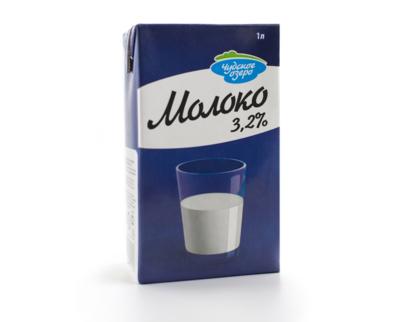 """Молоко """"Чудское озеро"""" ультрапастеризованное классическое 3,2%, 1 литр"""