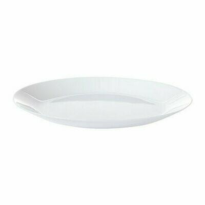 ОФТАСТ тарелка, белый, 25 см