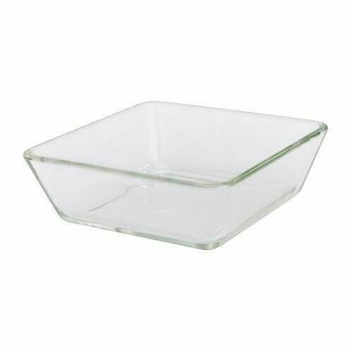Форма/блюдо д/дхвк, МИКСТУР, прозрачное стекло