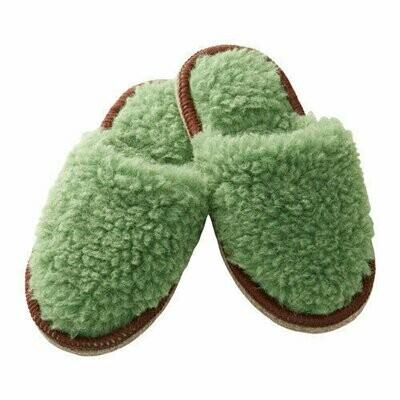 Тапочки, ФЕГЕН, зеленый, Размеры: S/M