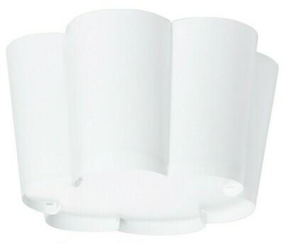 ЛИСБОЙ  Потолочный светильник, белый