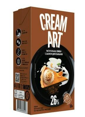 Растительные сливки Creamart 26%