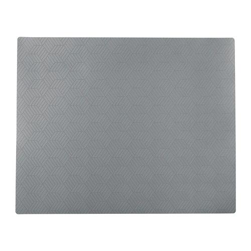 СЛИРА Салфетка под приборы, серый  36x29