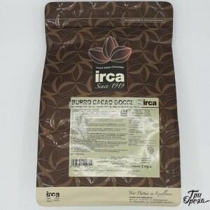 Какао-масло гранулированное Cocoa Butter Drops IRCA Италия, 2кг.