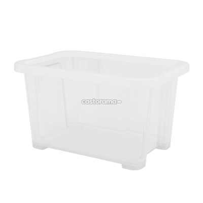Ящик для хранения Form 9,8 х 11,7 х 17,7 см, 1 л, прозрачный.