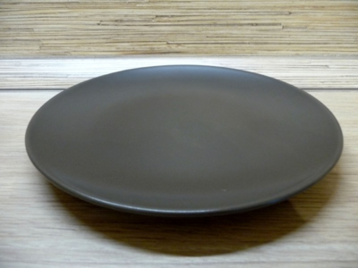 ВАРДАГЕН, тарелка темно-серый, 29 см