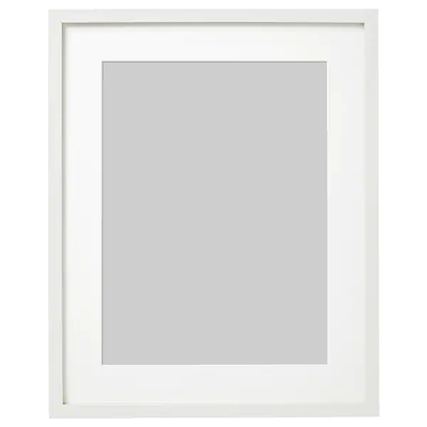 РИББА Рама, белый, 40x50 см