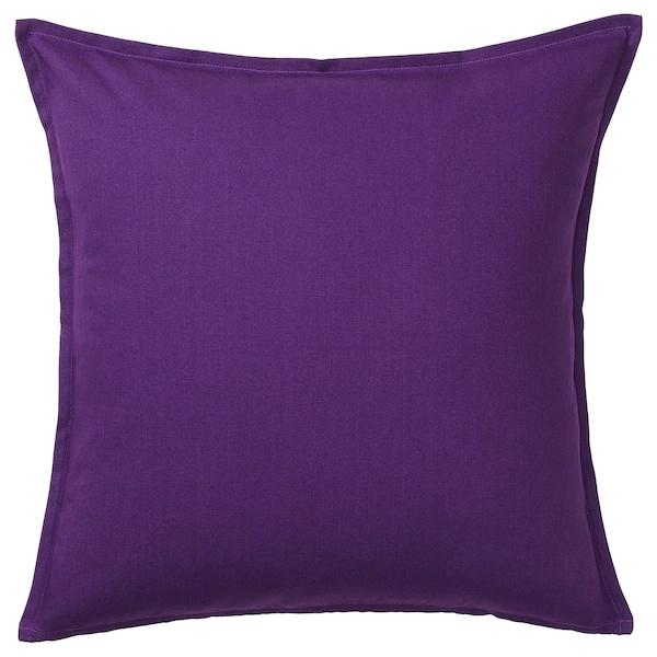 ГУРЛИ, чехол на подушку, темно-сиреневый, 65x65
