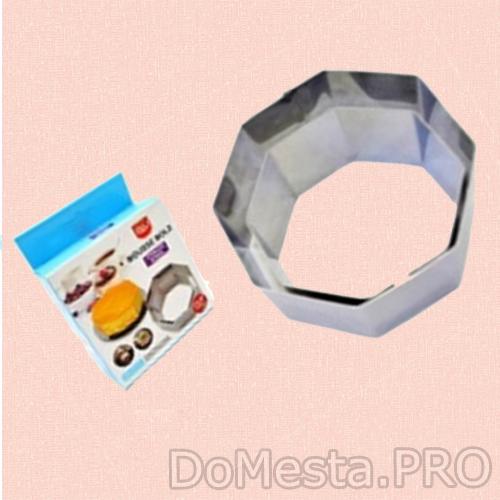 Формы для выкладки для вырубки, 8-и угол/2 шт. (8х4,10х4 см)