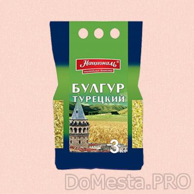 Булгур Турецкий пшеничный Националь 3 кг