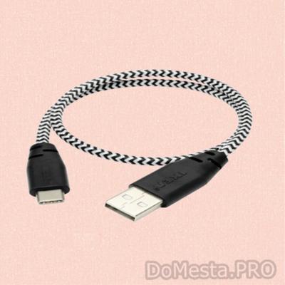 ЛИЛЛЬХУЛЬТ Кабель микро-USB-USB, ИКЕА, 0.4 м