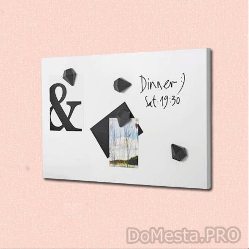 СВЕНСОС Доска для записей, белый, 40x60 см