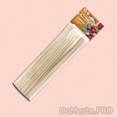Шпажки бамбуковые  для шашлыка, спиральных чипсов 40 см, 50 шт.