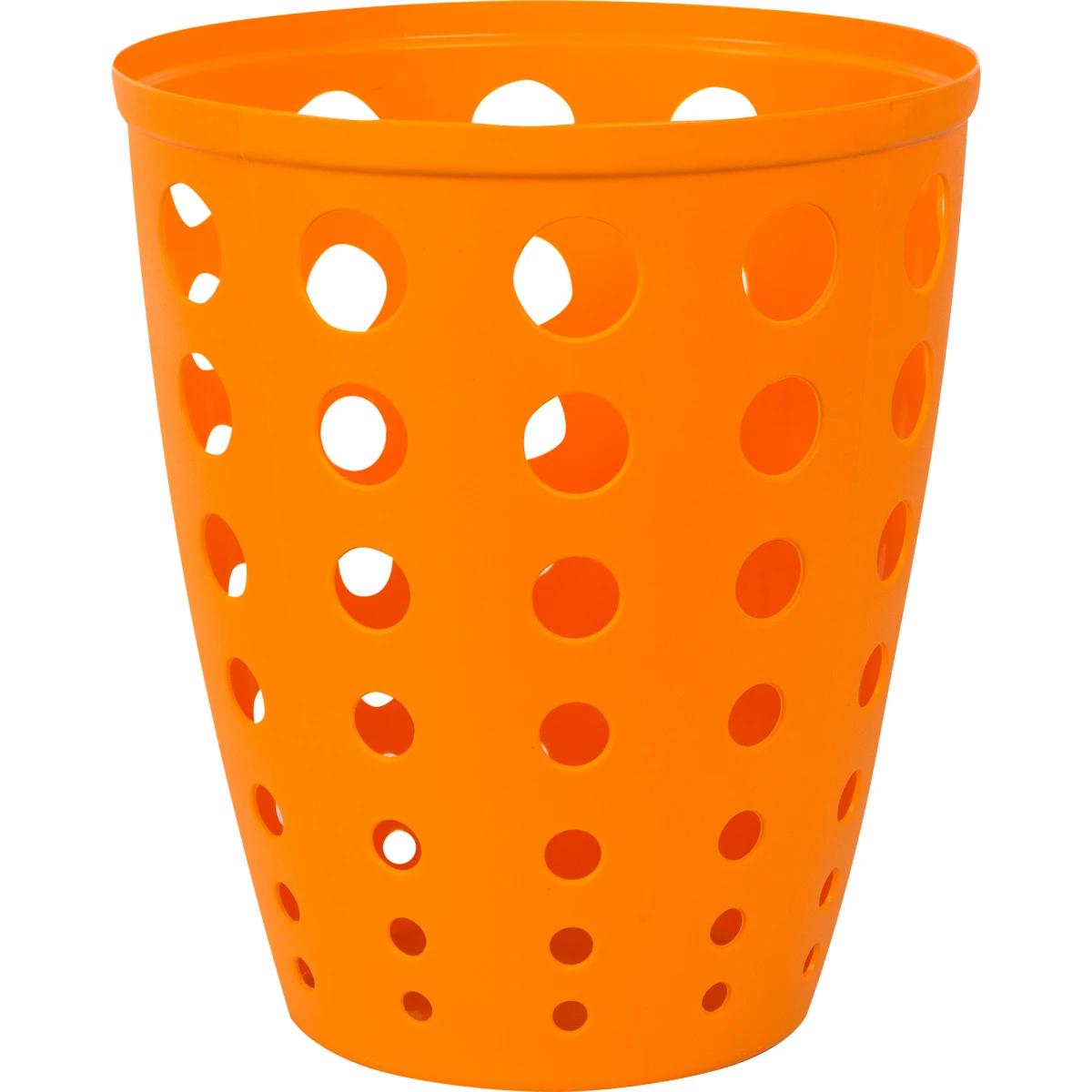 Контейнер для мусора «Евро» 13.5 л цвет оранжевый