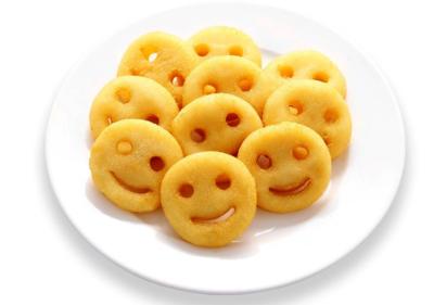 Картофельные рожицы
