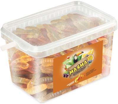 Мармелад жевательный МАЯМА ассорти вкусов 1,3кг