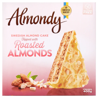 ALMONDY Миндальный торт 0,4 кг.