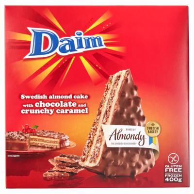 DAIM Миндально-шоколадный торт 0,4 кг.